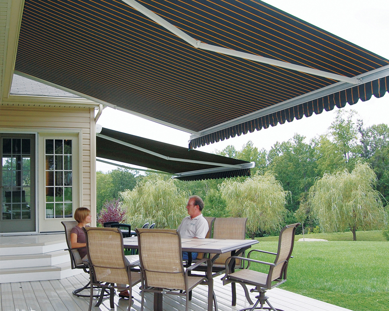 Custom Retractable Awnings Brantford Patio Canopy